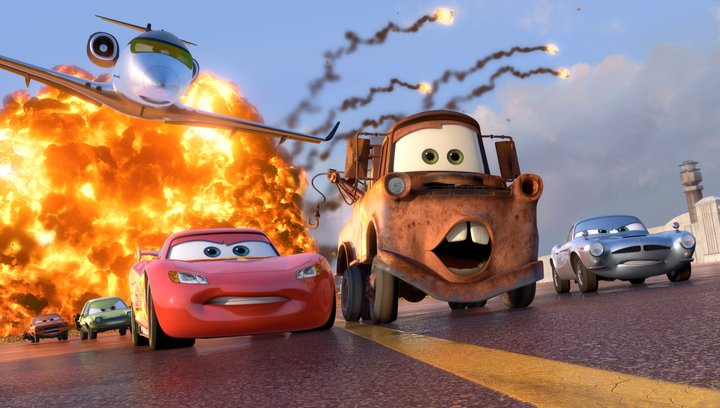 Cars 2 - Trailer Poster