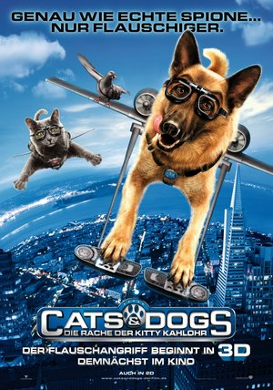 Cats & Dogs - Die Rache der Kitty Kahlohr Poster