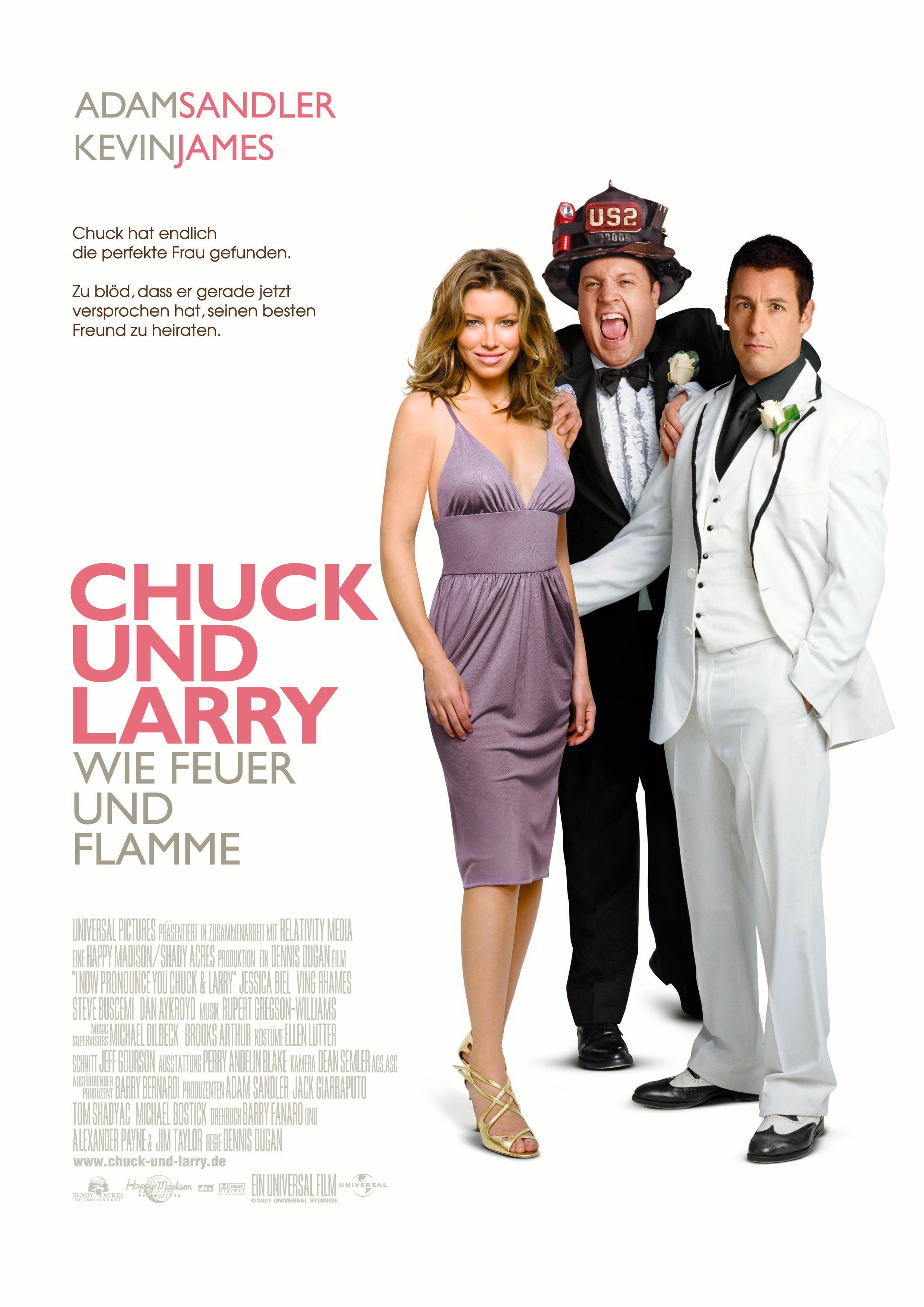 Chuck und Larry - Wie Feuer und Flamme Poster