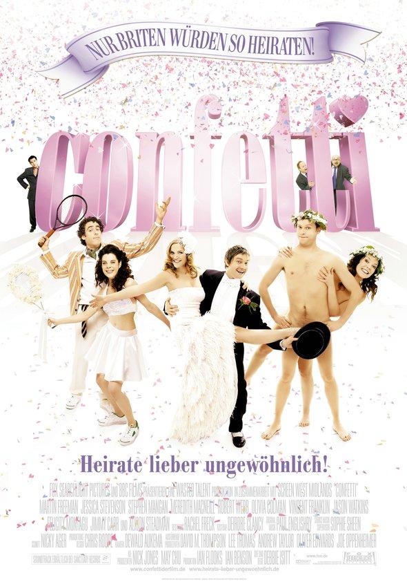 Confetti - Heirate lieber ungewöhnlich Poster