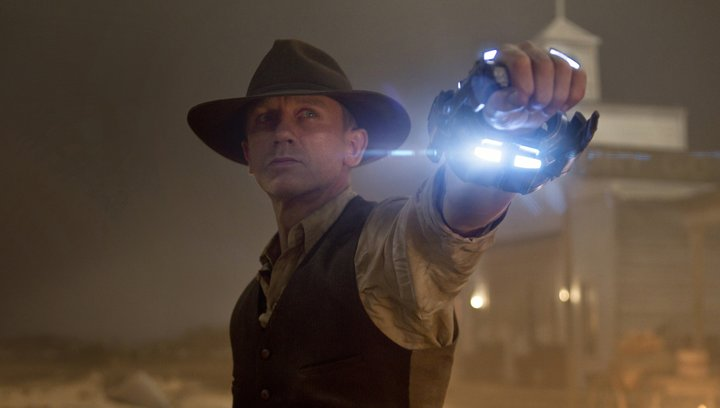 Cowboys & Aliens - Trailer Poster