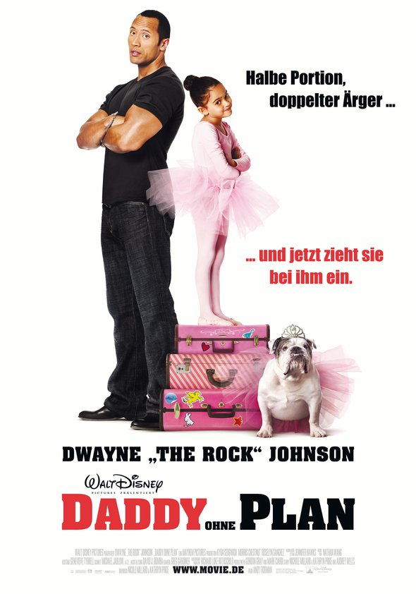 Daddy ohne Plan Poster