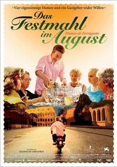 Das Festmahl im August Poster
