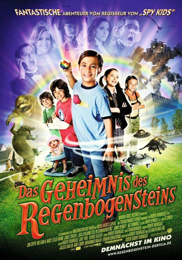Das Geheimnis des Regenbogensteins Poster