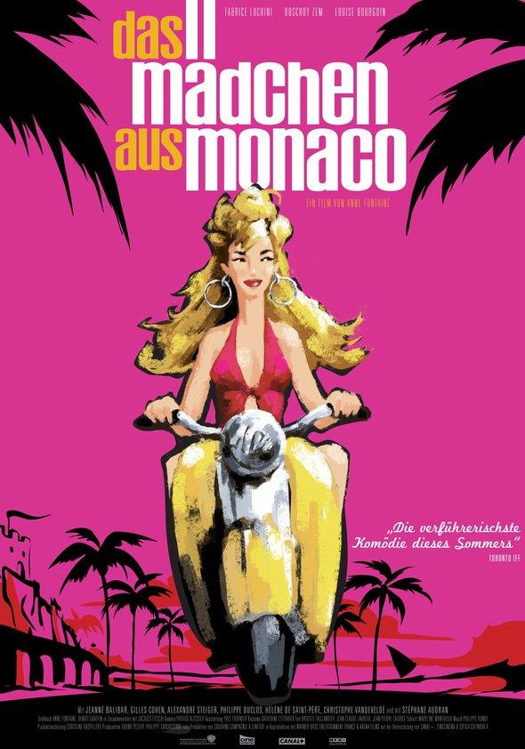 Das Mädchen aus Monaco Poster