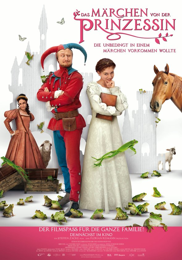 Das Märchen von der Prinzessin, die unbedingt in einem Märchen vorkommen wollte Poster