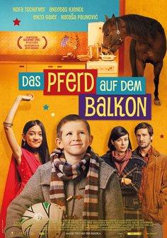 Das Pferd auf dem Balkon Poster