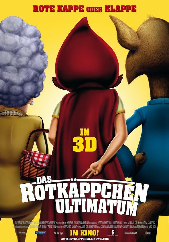 Das Rotkäppchen-Ultimatum 3D Poster