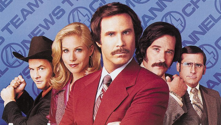 Der Anchorman - Die Legende von Ron Burgundy - Trailer Poster