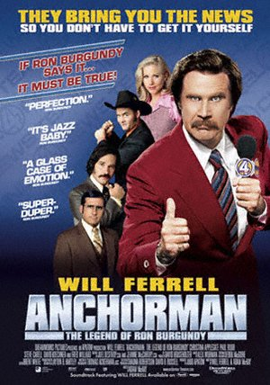 Der Anchorman - Die Legende von Ron Burgundy Poster