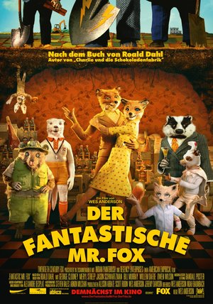 Der fantastische Mr. Fox Poster