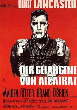 Der Gefangene von Alcatraz Poster