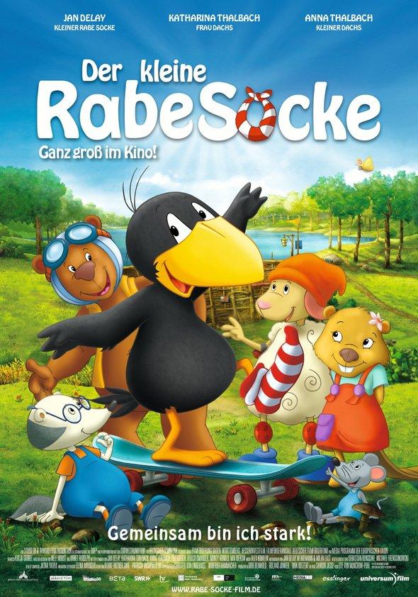 Der kleine Rabe Socke Poster