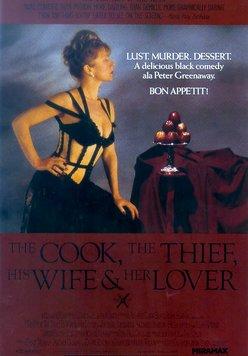 Der Koch, der Dieb, seine Frau und ihr Liebhaber Poster