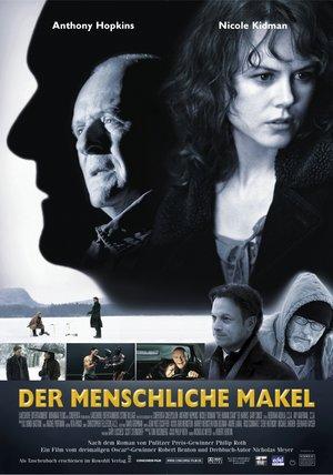 Der menschliche Makel Poster