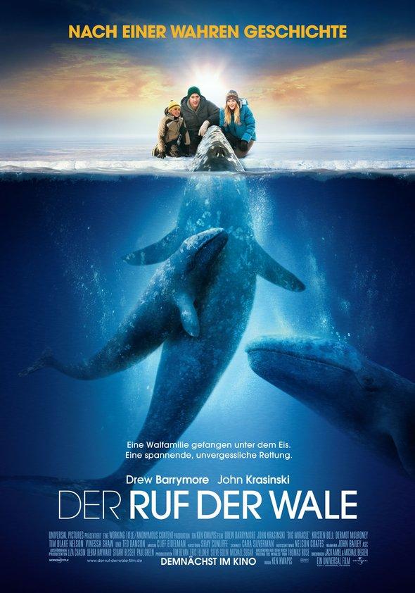 Der Ruf der Wale Poster
