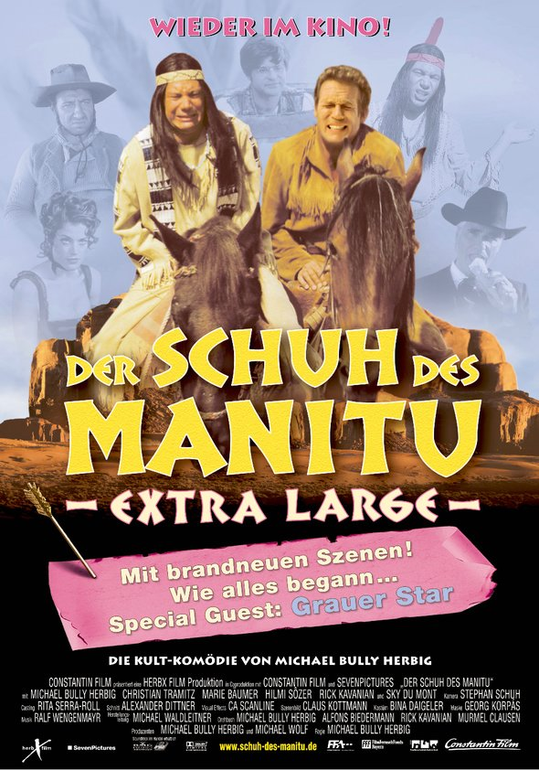 Der Schuh des Manitu Poster