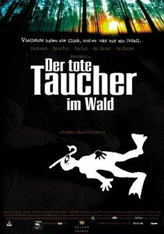 Der tote Taucher im Wald Poster