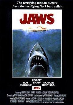 Der weiße Hai Poster