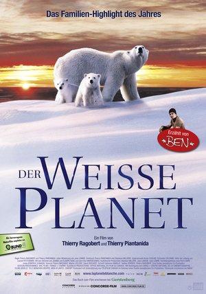 Der weiße Planet Poster