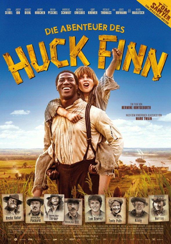 Die Abenteuer des Huck Finn Poster