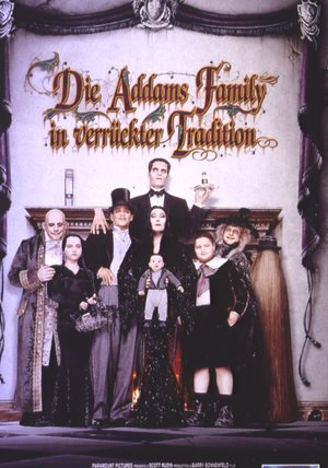Die Addams Family in verrückter Tradition Poster