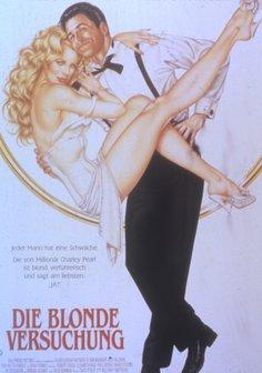 Die Blonde Versuchung Poster