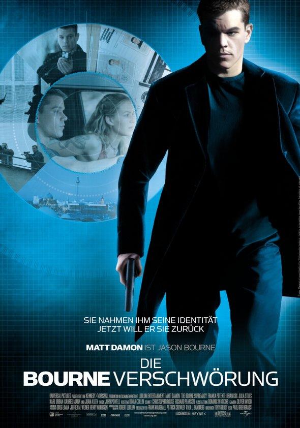 Die Bourne Verschwörung Poster