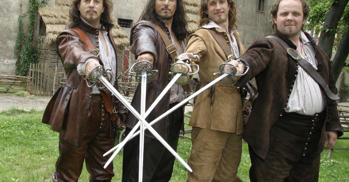 wie heiГџen die drei musketiere