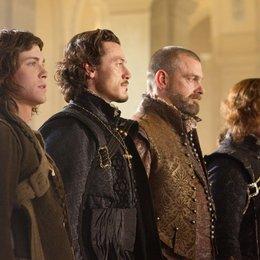 Die drei Musketiere - DVD-Trailer Poster