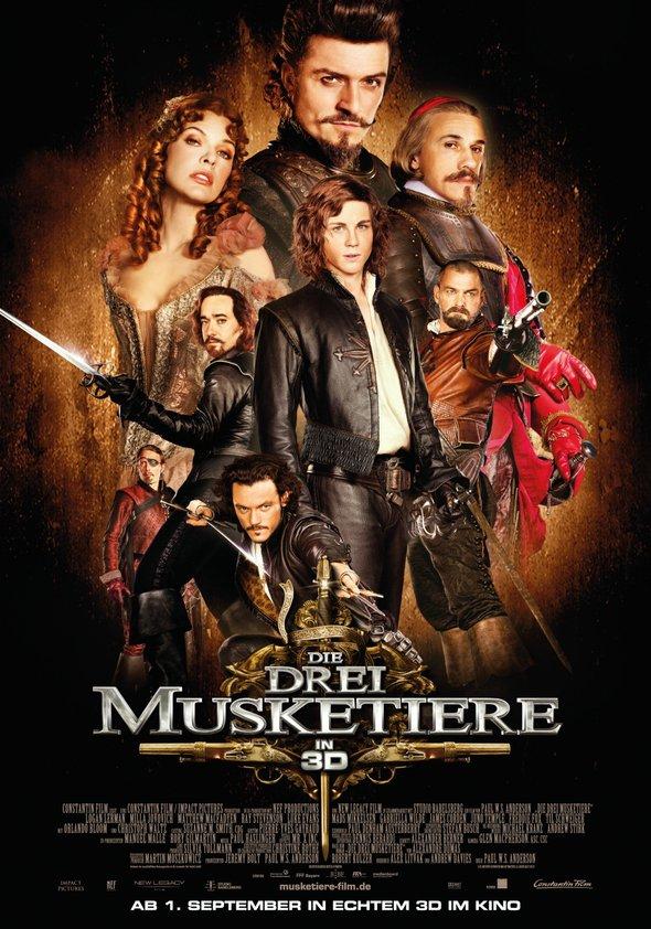 Die drei Musketiere Poster