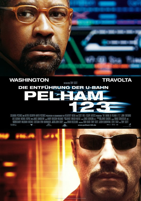 Die Entführung der U-Bahn Pelham 123 Poster