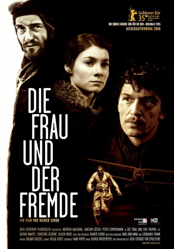 Die Frau und der Fremde Poster