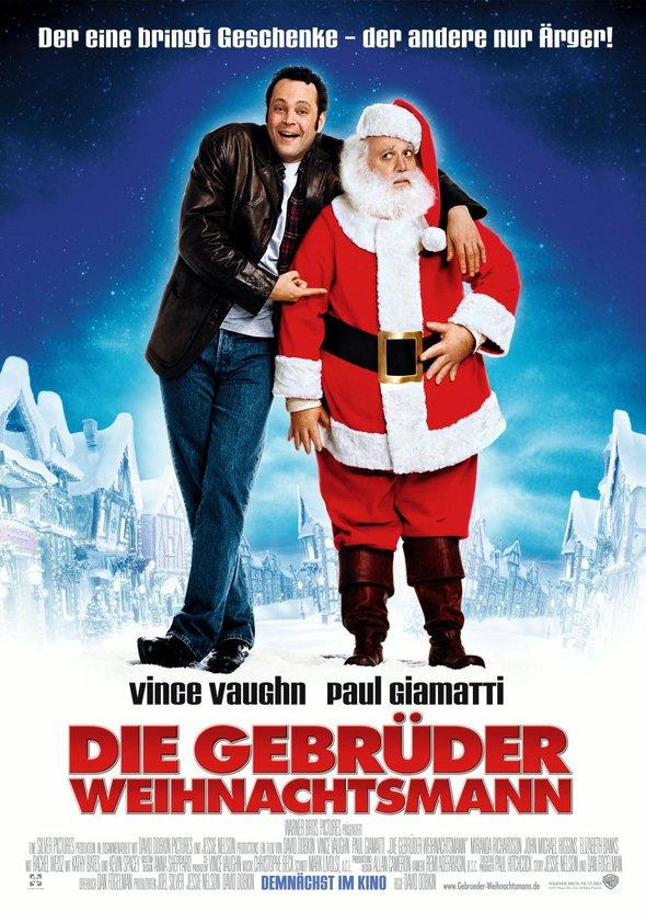 Die Gebrüder Weihnachtsmann Poster