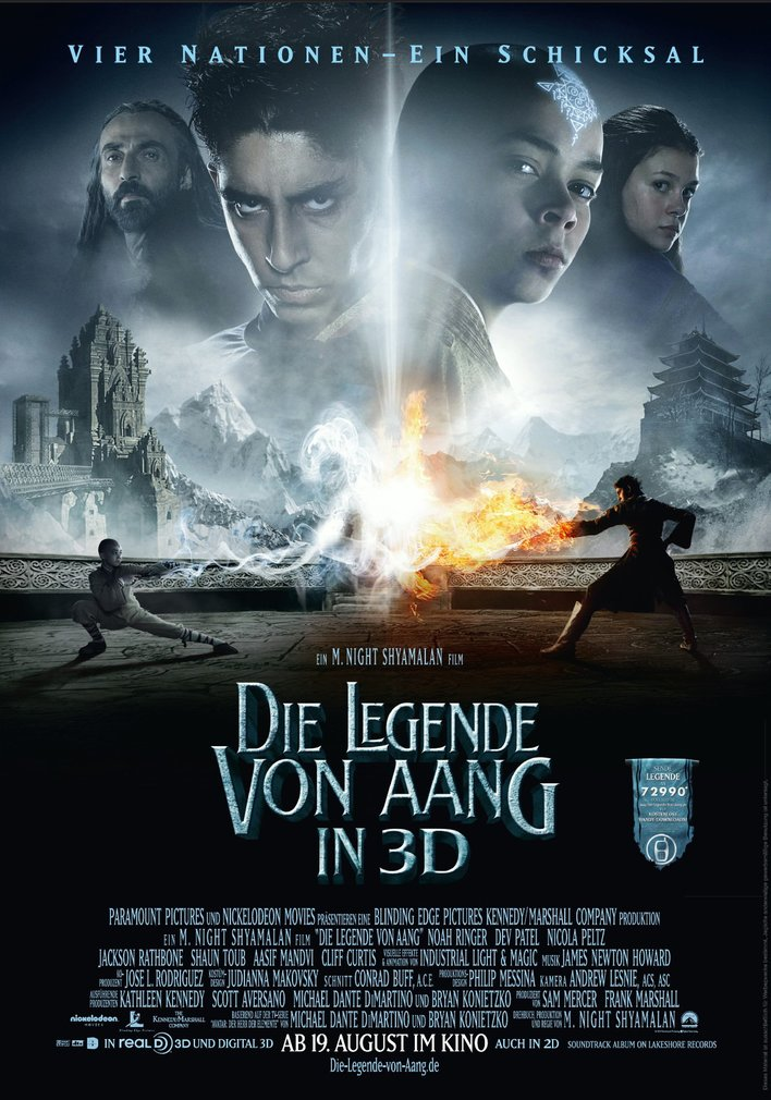 Die Legende Von Aang 2 Regisseur Shyamalan Wünscht Sich