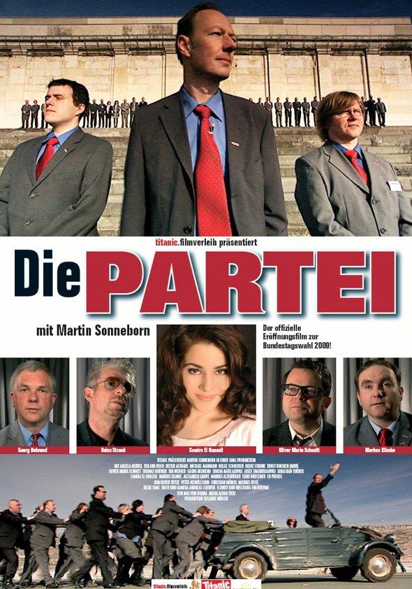 Die Partei Poster