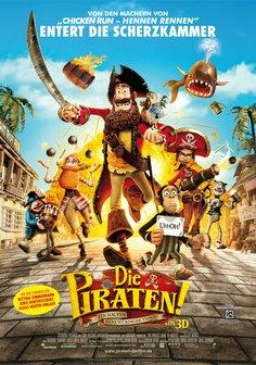 Die Piraten! - Ein Haufen merkwürdiger Typen Poster