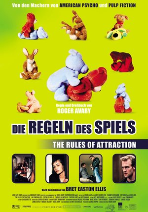 Die Regeln des Spiels - Rules of Attraction Poster