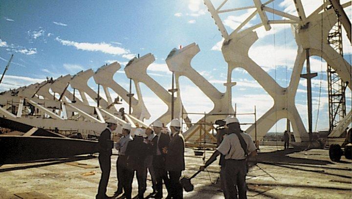 Die Reisen des Santiago Calatrava - Trailer Poster
