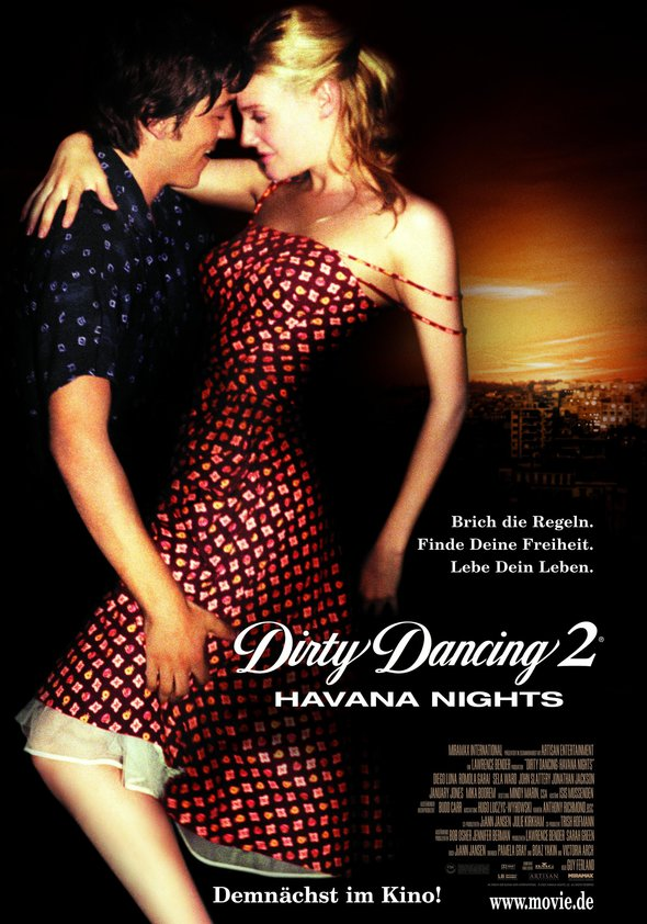 Dirty Dancing 2 Poster