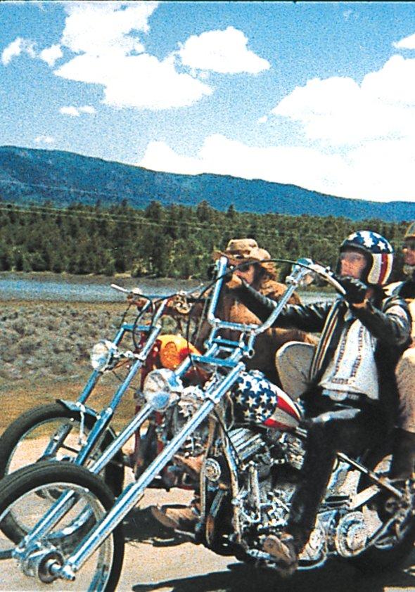 easy rider film 1969 trailer kritik. Black Bedroom Furniture Sets. Home Design Ideas