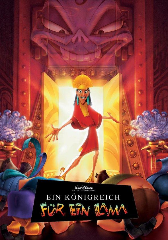 Ein Königreich für ein Lama Poster