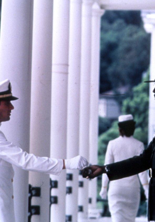Ein Offizier und Gentleman Poster
