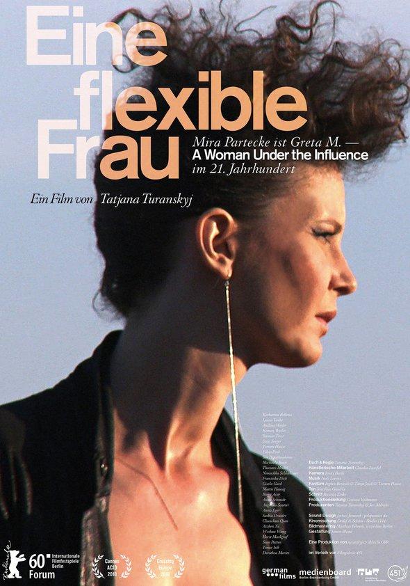 Eine flexible Frau Poster