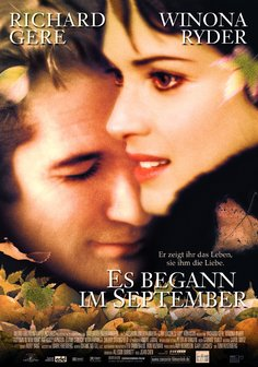 Es begann im September Poster