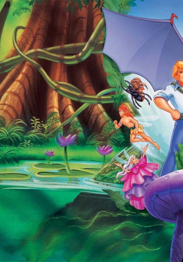Ferngully - Christa und Zaks Abenteuer im Regenwald Poster