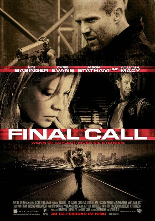Final Call - Wenn er auflegt, muss sie sterben Poster