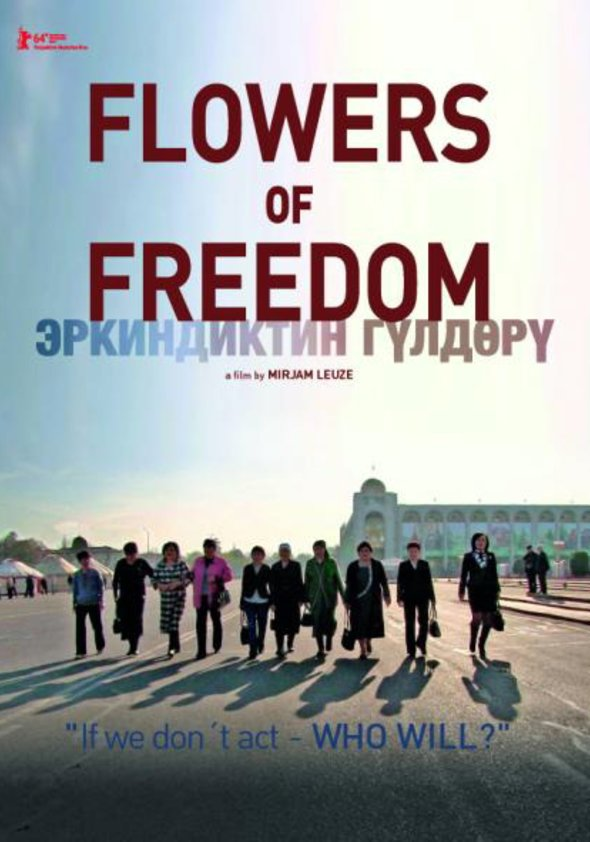 Flowers of Freedom Poster
