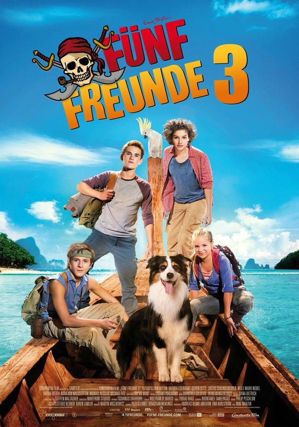 Fünf Freunde 3 Poster