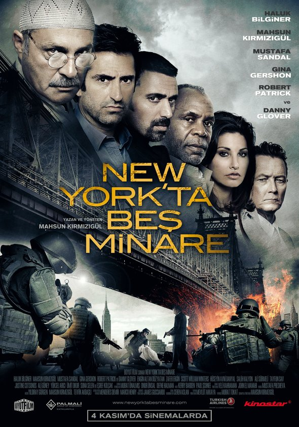 Fünf Minarette in New York Poster